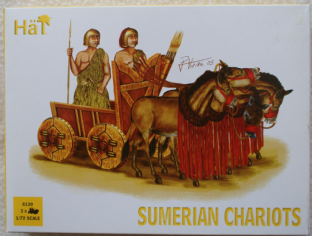 HaT 1/72 HAT8130 Sumerian Chariots (Ancients)